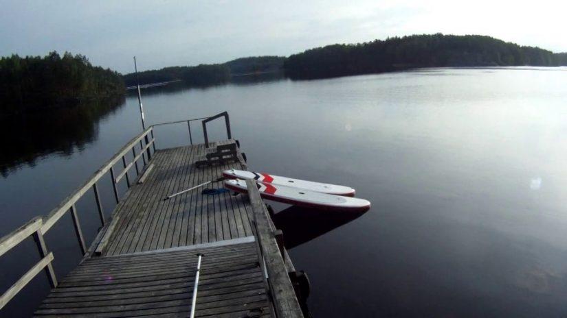 SUP - Finland, Repoveden kansallispuisto  29.6.2013 | aquasport.tv