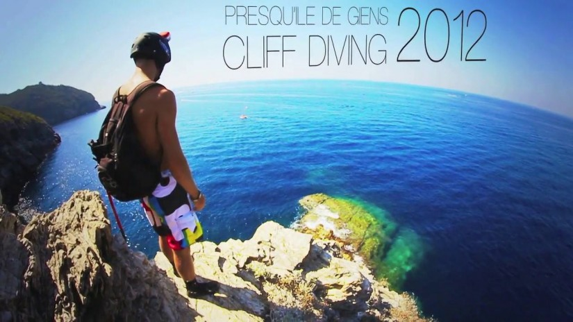 Cliff Diving in Presqu'île de Giens,France | aquasport.tv