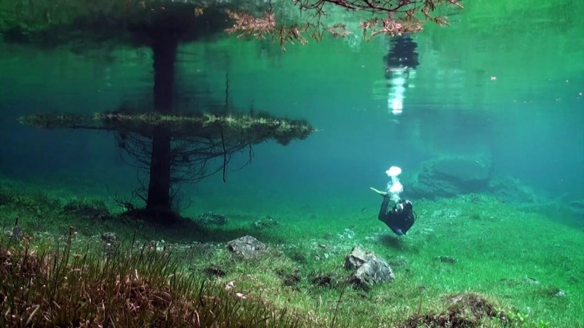 The Green Lake and the Green Meadow | aquasport.tv