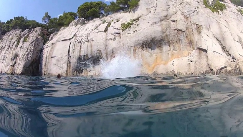 Kroatien 2012 Cliff Diving | aquasport.tv