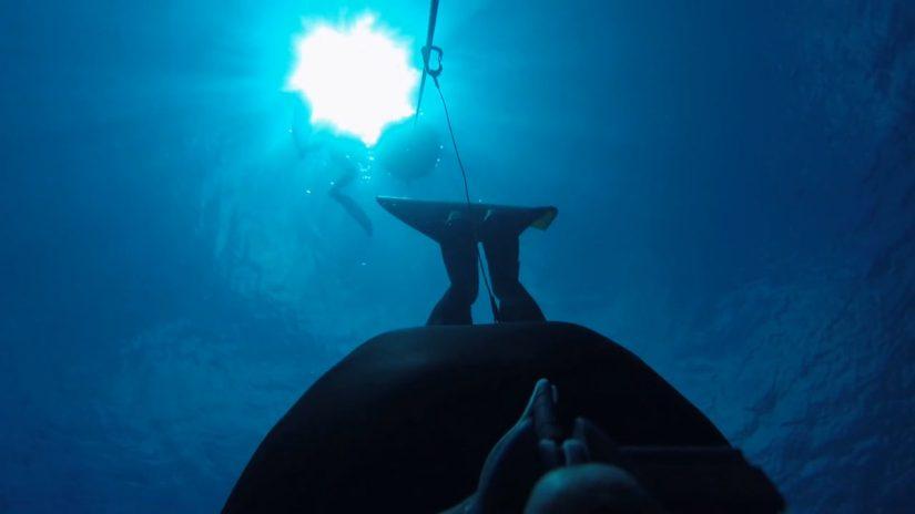 Onboard Freedive by Markus Helm