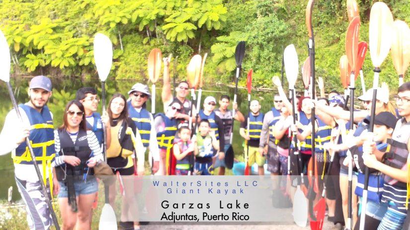 Kayak Lake Heron Adjuntas WalterSites for GiantKayak