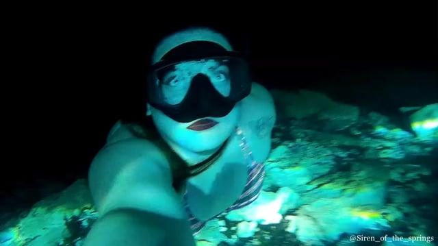 Peacock Springs Florida Freediving Siren | aquasport.tv