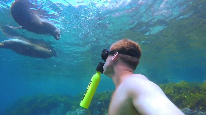 Scorkl, a bottle that aims to revolutionize scuba diving | aquasport.tv