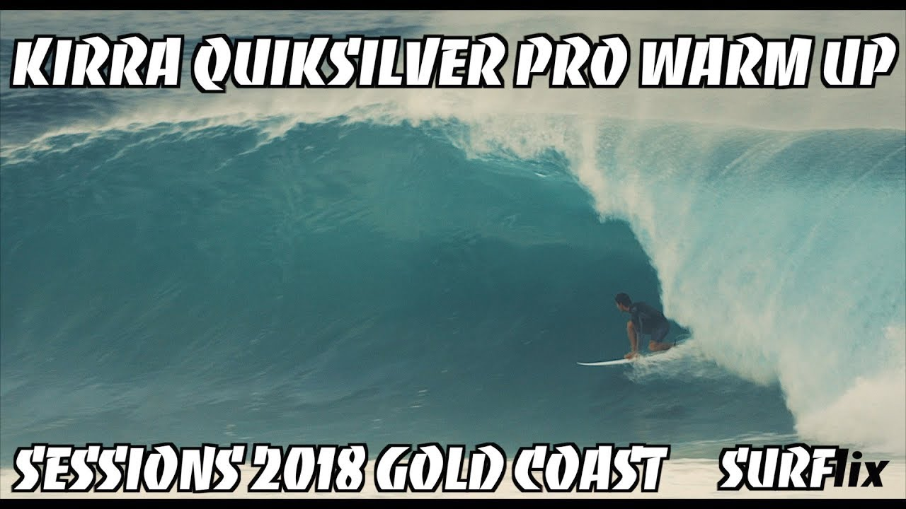 DAWN WARM UP SESSION BEFORE WSL QUIKSILVER PRO 2018 FINAL