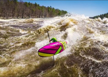 Big Wave Kayaking 2018 Stakeout Moments
