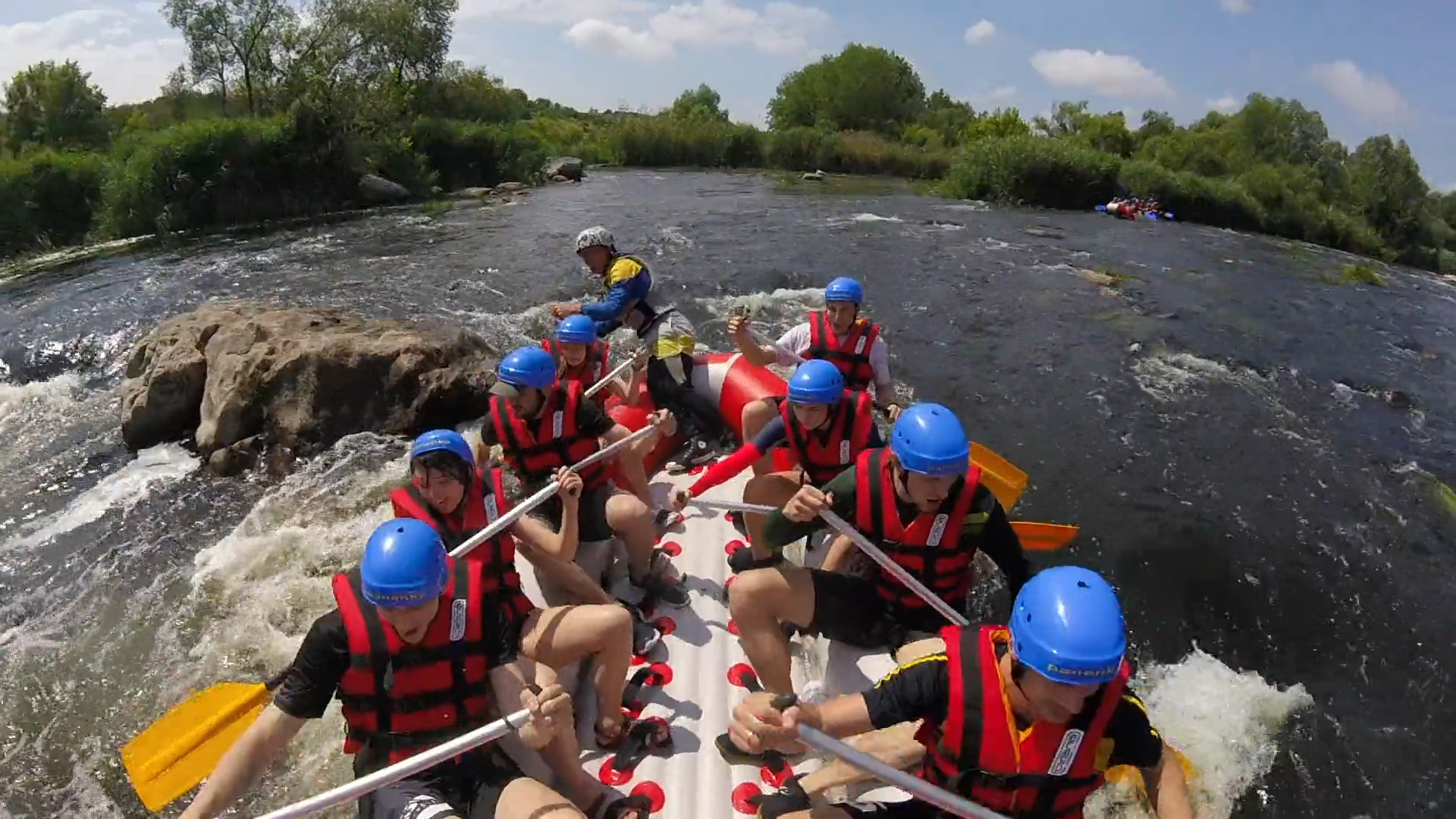 Rafting at the Black Cheremosh River