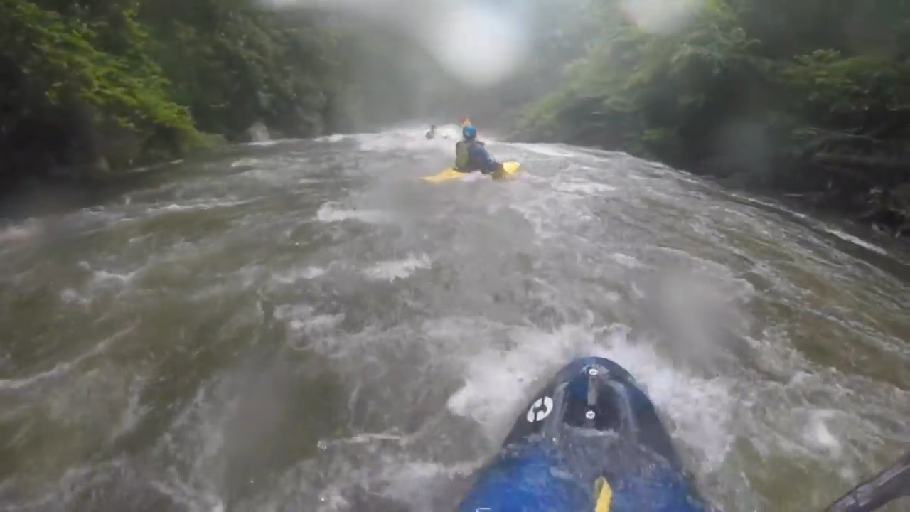 Extreme Kayaking Experience on a Savage River