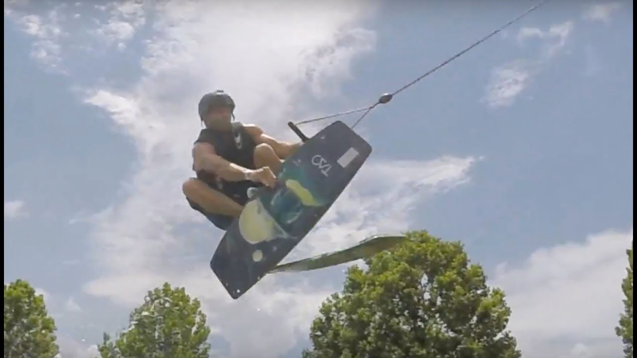 Wakeskate Session at a Cable Park in Tampa