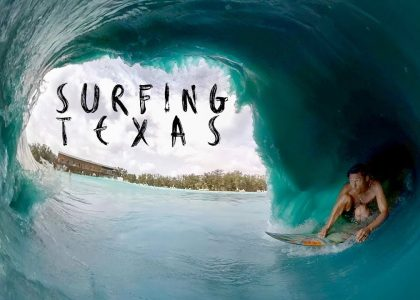Surfing Texas with Jamie OBrien Kalani Robb and Mason Ho