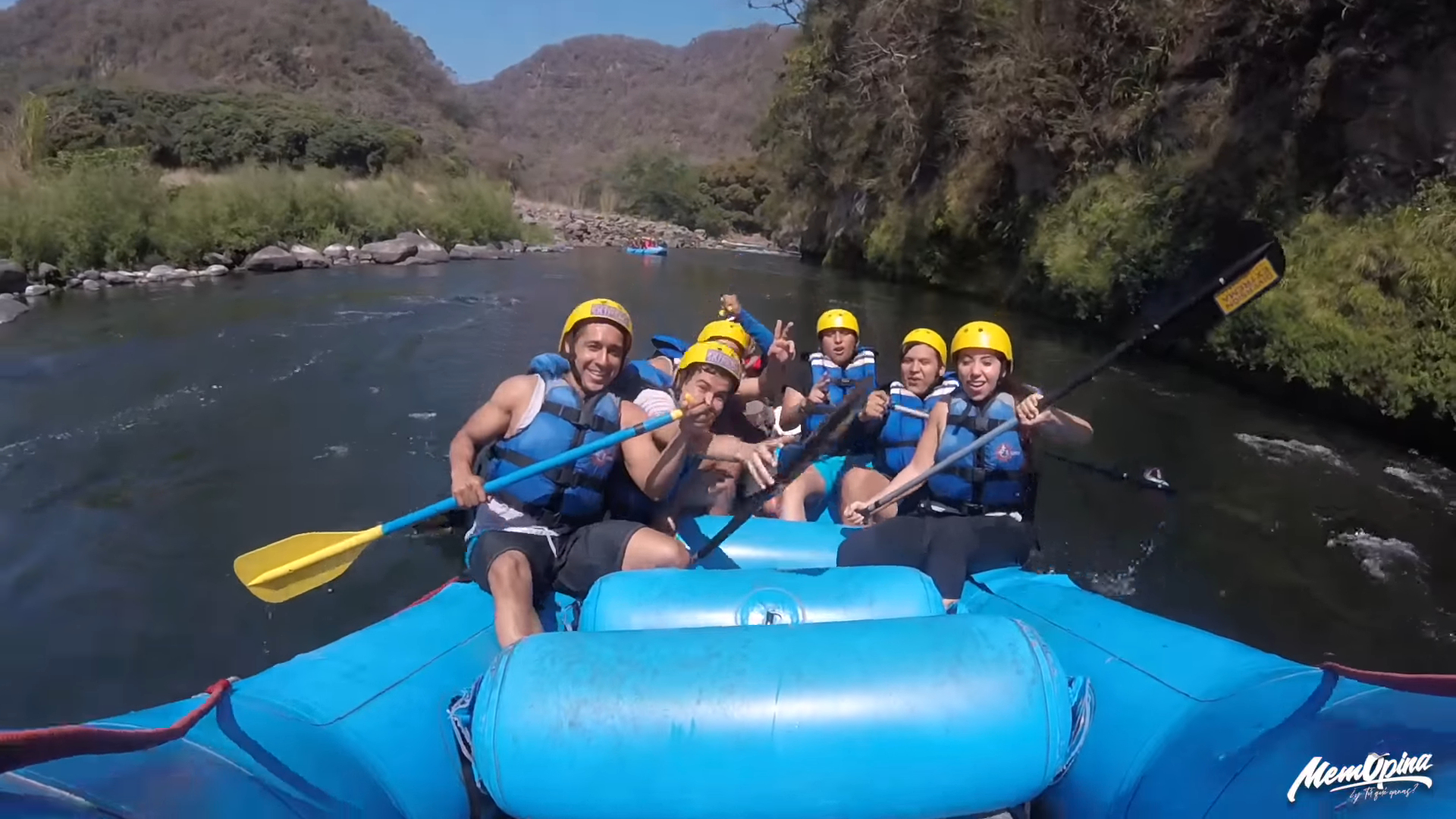 First time Rafting in Jalcomulco