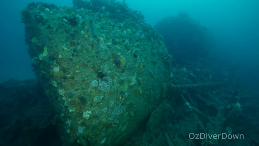 Nyora Steam Tug Wreck Site Overview